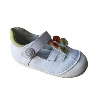 GATEAFLEX.Sandalias de piel en color Blanco. ANDANINES.