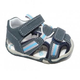 Sandalias de sport color Azul Marino.CRECENDO